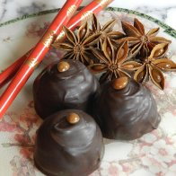 Star Anise Chocolate Truffle