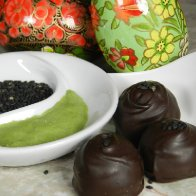 Wasabi Chocolate Truffles