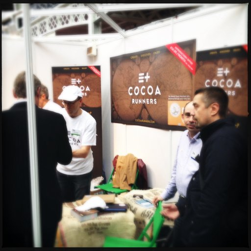 Cocoa Runners booth