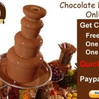 4 tiers Chocolate Fountain Online