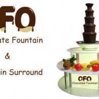 chocolate fountain surround