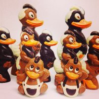 Retro Duck Easter