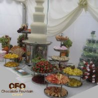 CF44 5 Tiers Large Commercial Chocolate Fountain Machine Sales