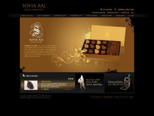 SofiaRaj Chocolates