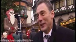 Weltgrößter Schokoladen-Weihnachtsmann von Gerhard Petzl